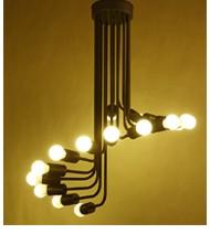 Bộ đèn trang trí cầu thang xắn 16 bóng - MCDTCT16B