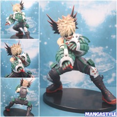 Enter The Hero Katsuki Bakugou Figure