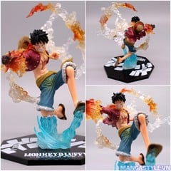 Figuarts Zero Monkey D. Luffy Battle Ver Gomu Gomu No Red Hawk