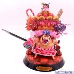 One Piece SD Yonko Big Mom on Throne GK Resin