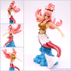 Princess Shirahoshi Scultures World Colosseum Banpresto