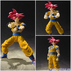 S.H.Figuarts Super Saiyan God Son Goku