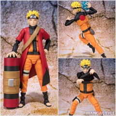 S.H.Figuarts Uzumaki Naruto Sennin Mode (Advanced Ver.)