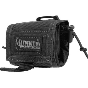 ROLLYPOLY® Folding Dump Pouch (Black)