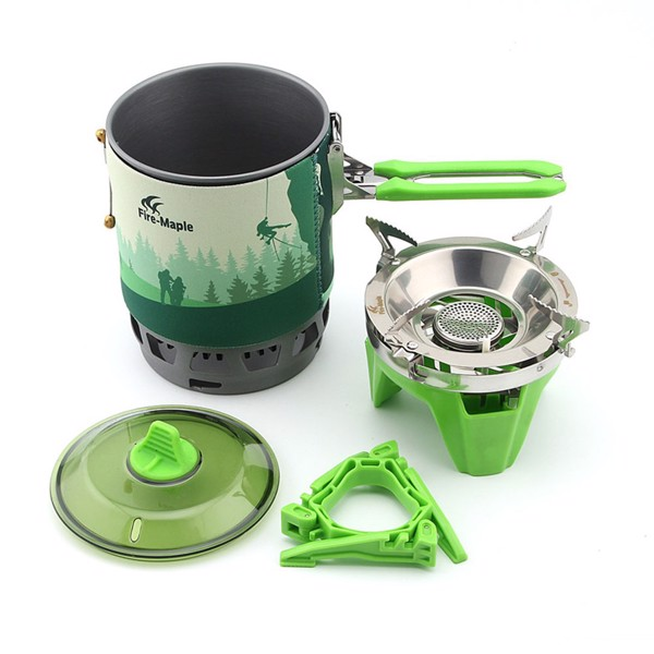 FIRE MAPLE - COOKING SET FIRE MAPLE STAR X3 GREEN