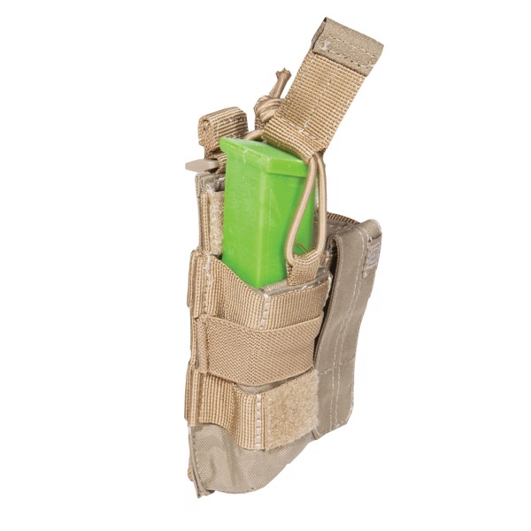 Pouch DOUBLE PISTOL BUNGEE/COVER - Sandstone