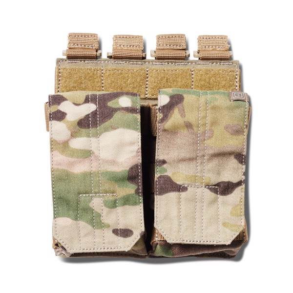 Pouch DOUBLE AR BUNGEE/COVER - Multicam