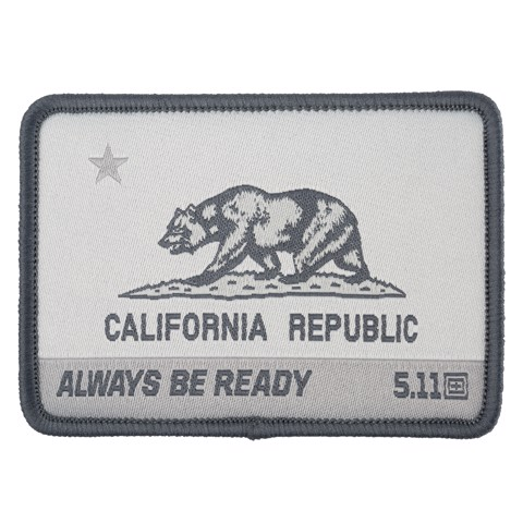 CA Bear Patch - Double Tap