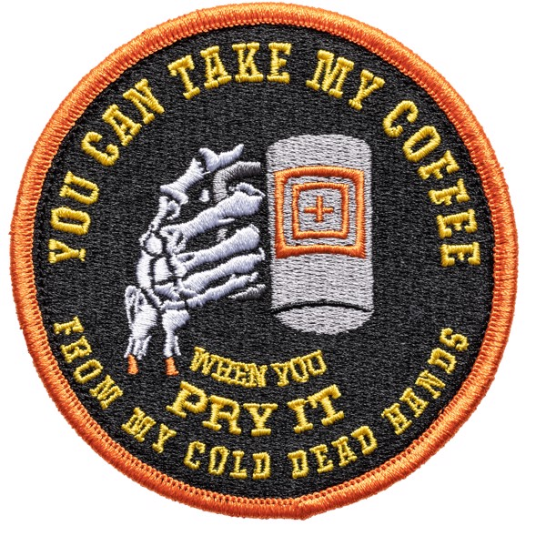 COLD DEAD CAFFEINE PATCH 461 : ORANGE