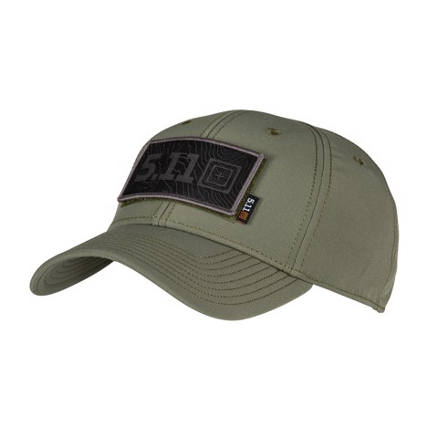 Nón 5.11 Tactical HAWKEYE A FLEX CAP - Fatigue