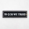 In God we trust - 1