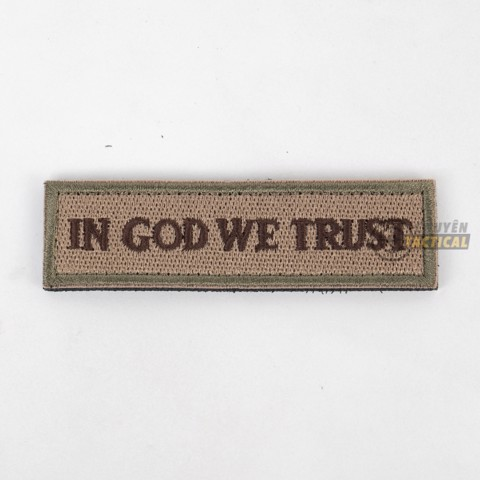 In God we trust - 2