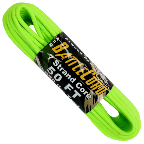 5.6mm Battle Cord - 100ft - Neon Green