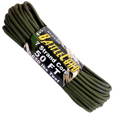 5.6mm Battle Cord - 100ft - Olive Drab