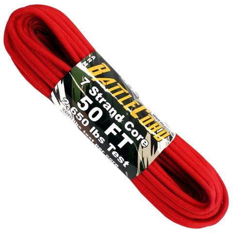 5.6mm Battle Cord - 100ft - Red