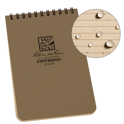 4 X 6 NOTEBOOK - TAN