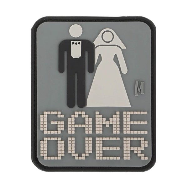 Game Over Patch (SWAT) 2'' x 2.5'' - Swat