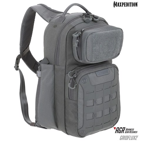 Balo Maxpedition GRIDFLUX v2.0  - Gray