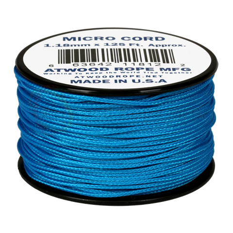 Dây Micro Cord 1.18mm - 100ft - Blue