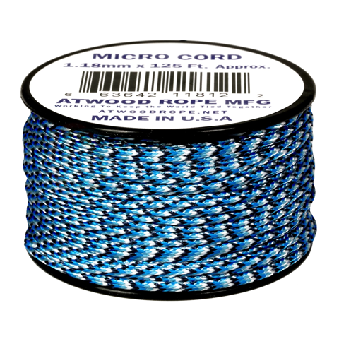 Dây Micro Cord 1.18mm - 100ft - Blue Snake