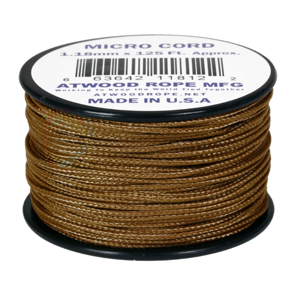 Dây Micro Cord 1.18mm - 100ft  - Coyote