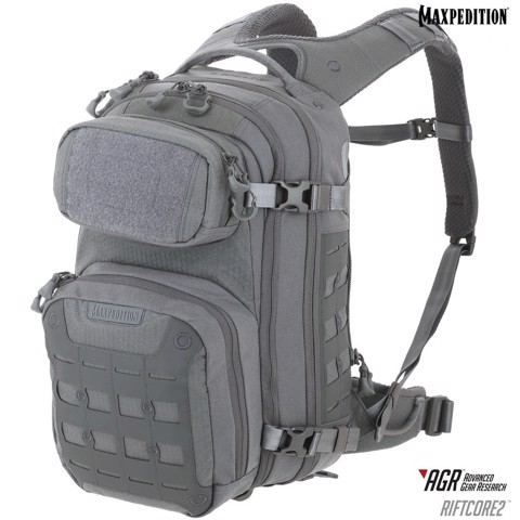 Balo Maxpedition Riftcore v2.0 CCW-Enabled Backpack 23L - Grey
