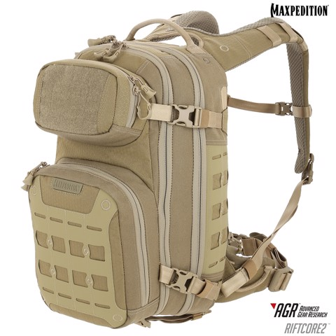Balo Maxpedition Riftcore v2.0 CCW-Enabled 23L - TAN