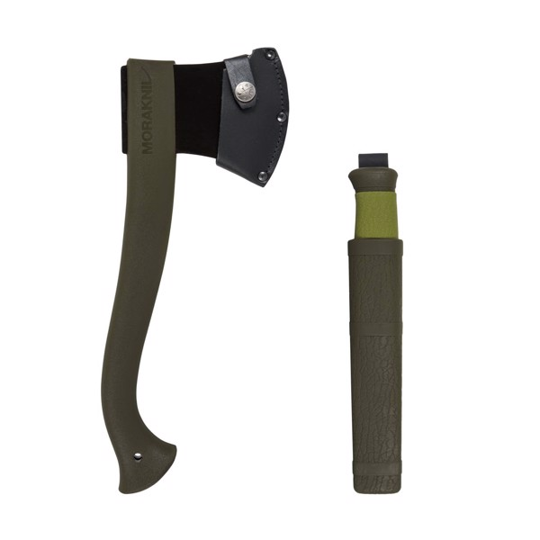 MORAKNIV® AXE & KNIFE OUTDOOR KIT - Olive Green