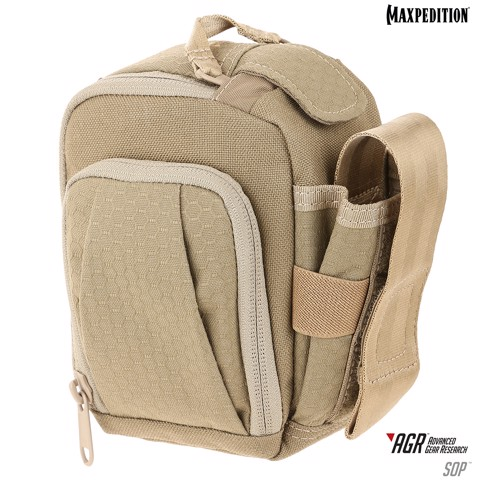 Maxpedition SOP Side Opening Pouch - Tan