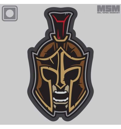 SPARTAN WARRIOR HEAD 1 MORALE PATCH
