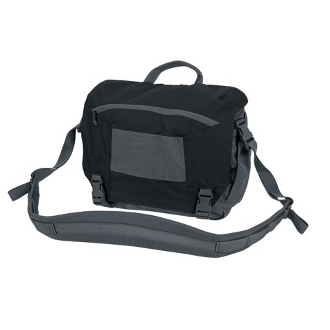 TÚI URBAN COURIER BAG Medium® - Cordura® - Black / Shadow Grey A