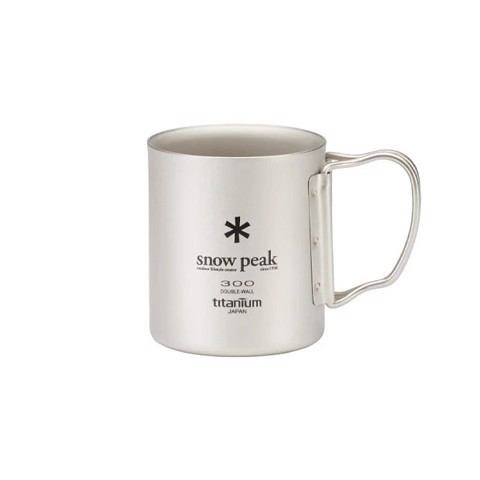 Snow Peak Ti-Double 300 Mug