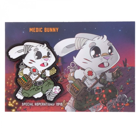 TACTICAL MEDIC BUNNY PATCH
