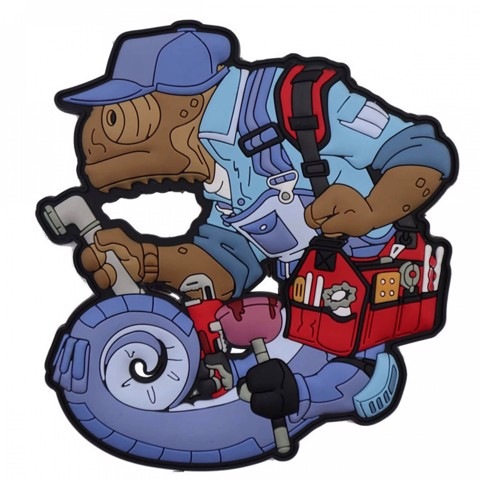 CHAMELEON LEGION CRAFT LINE PLUMBER PATCH