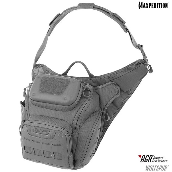 Túi Maxpedition WOLFSPUR™ CROSSBODY 11L - Gray