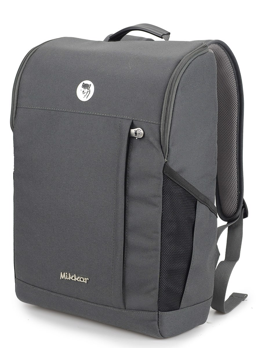 Balo Mikkor The Lewis Backpack (Xám Đậm)