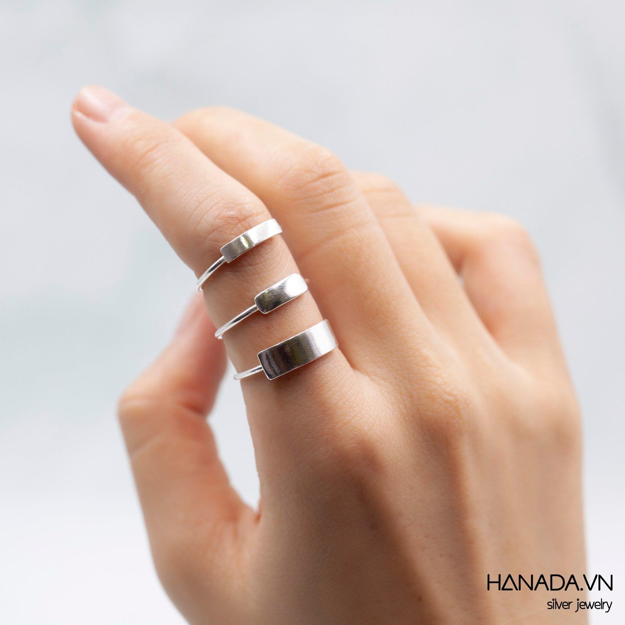 Nhẫn Bạc 925 Hanadac