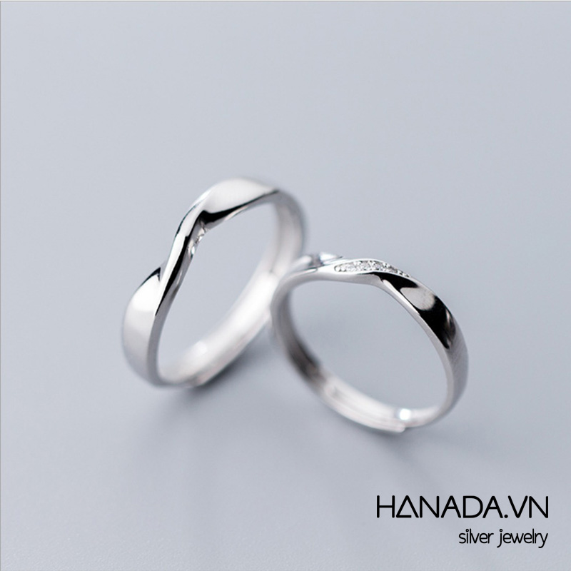 Nhẫn Bạc 925 Hanada N1234.RCF.2.S.280.0099