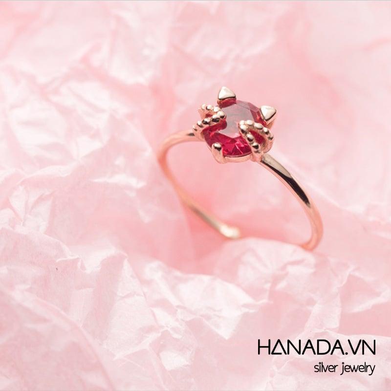 Nhẫn Bạc 925 Hanada R0034