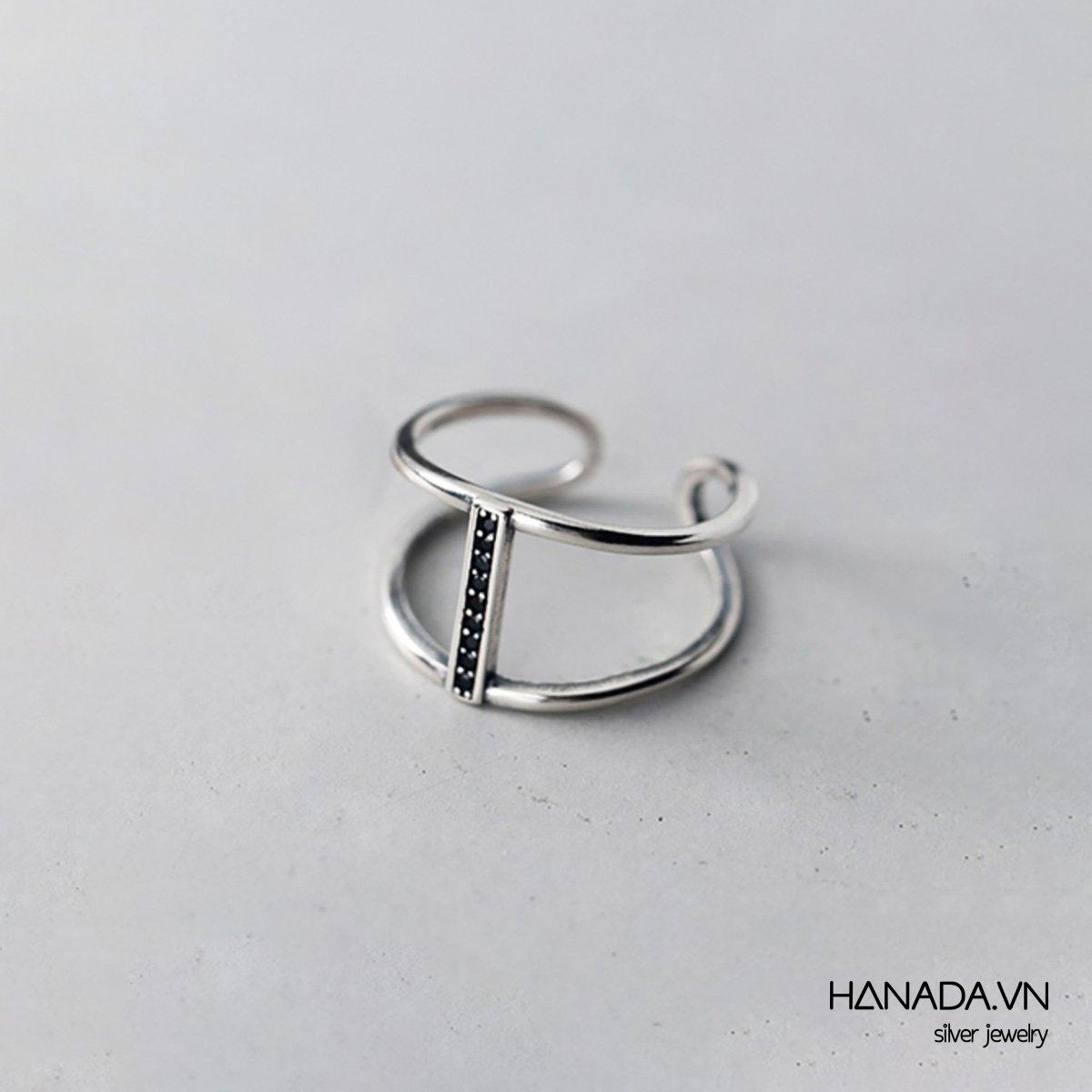 Nhẫn Bạc 925 Hanada R01 22