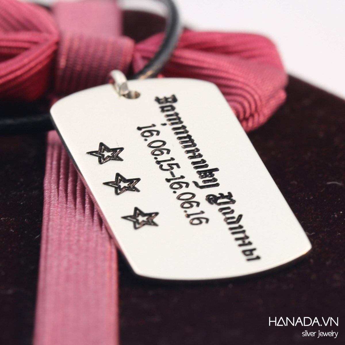 Dây Chuyền Bạc 925 Hanada