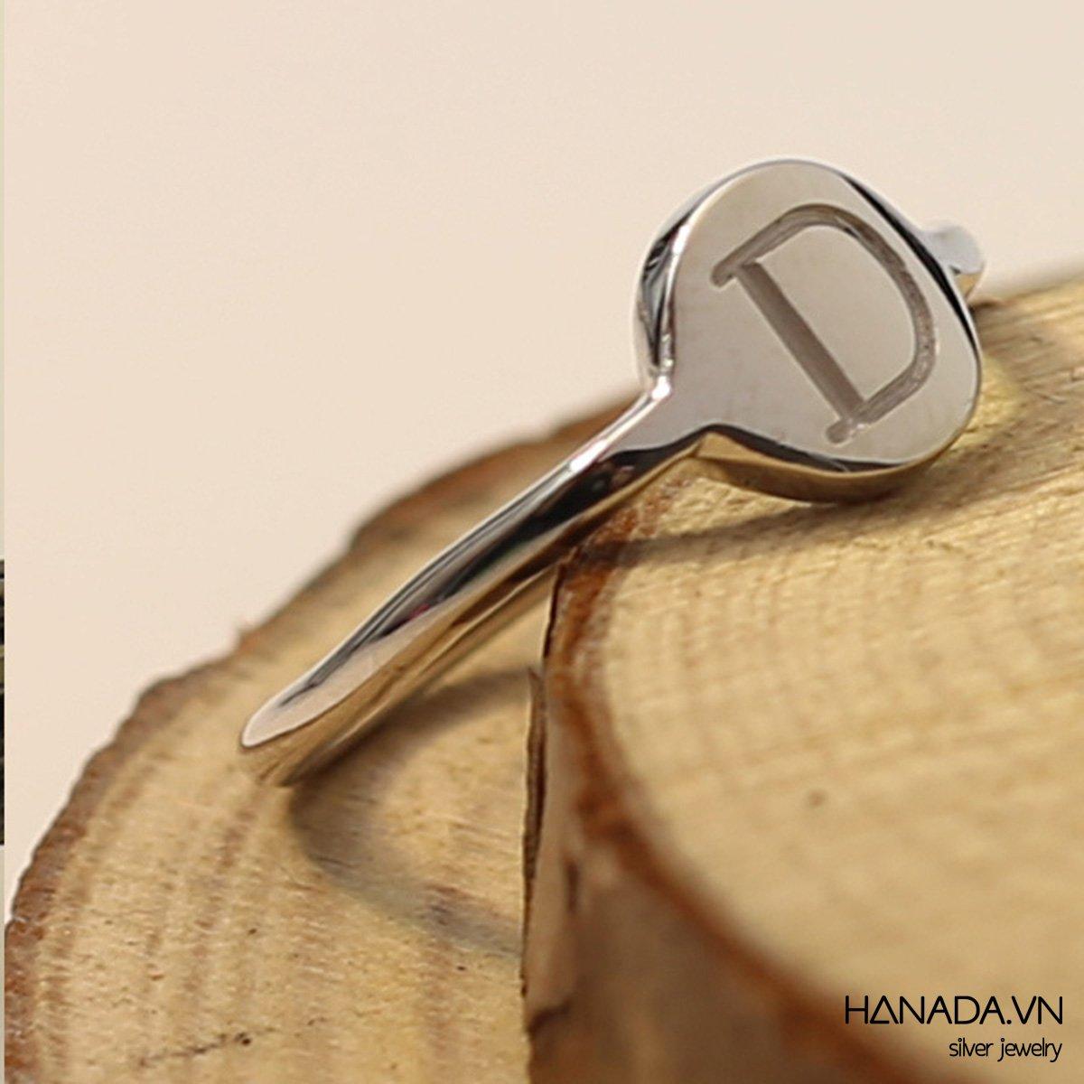 Nhẫn Bạc 925 Hanada
