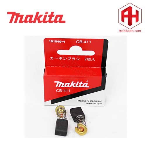 Chổi than B-80391 Makita CB-411A