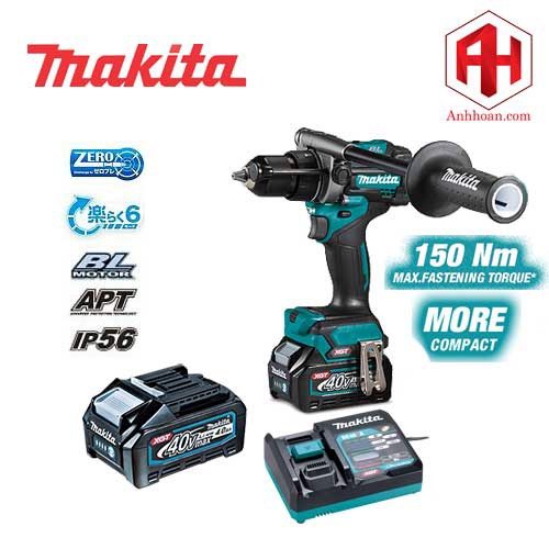 Máy khoan pin Makita 40V Max HP001GM201 (SET 40V:4Ah)
