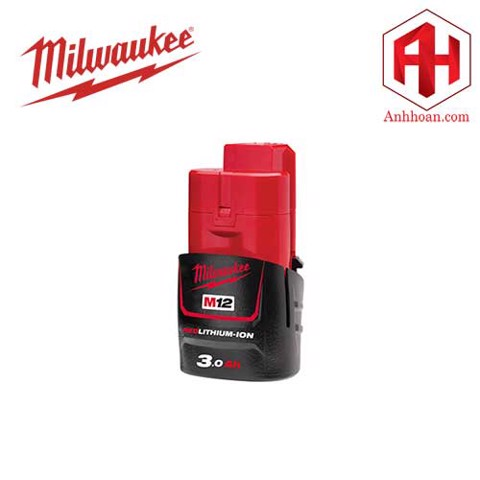 Milwaukee Pin Li-Ion M12B3 RedLithium (12V:3Ah)