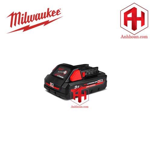 Milwaukee Pin Highoutput M18HB3 RedLithium (18V:3Ah)