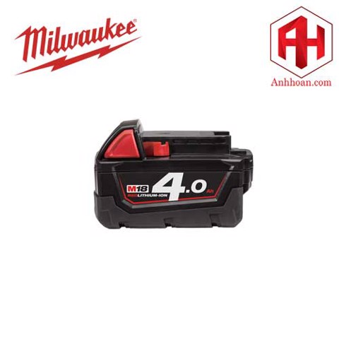 Milwaukee Pin Li-Ion M18B4 RedLithium (18V:4Ah)