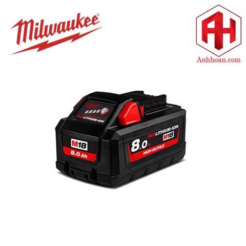 Milwaukee Pin Li-Ion M18HB8 RedLithium (18V:8Ah)