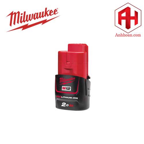 Milwaukee Pin Li-Ion M12B2 RedLithium (12V:2Ah)