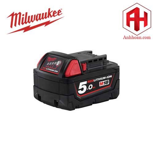 Milwaukee Pin Li-Ion M18B5 RedLithium (18V:5Ah)